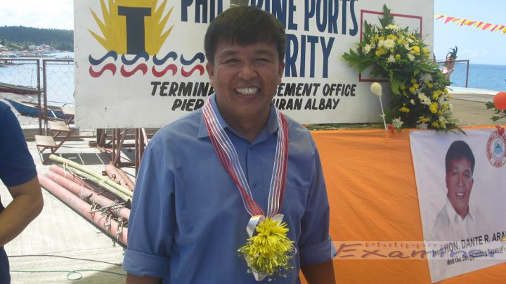 Pio Duran Mayor Dante R. Arandia