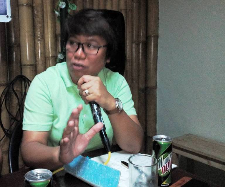 Grace L. Cariño, DENR–5, Division Chief of Conservation and Development Division [Photo courtesy of Mar L. Mendez]