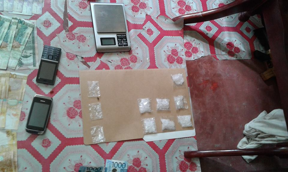 Confiscated illegal drugs