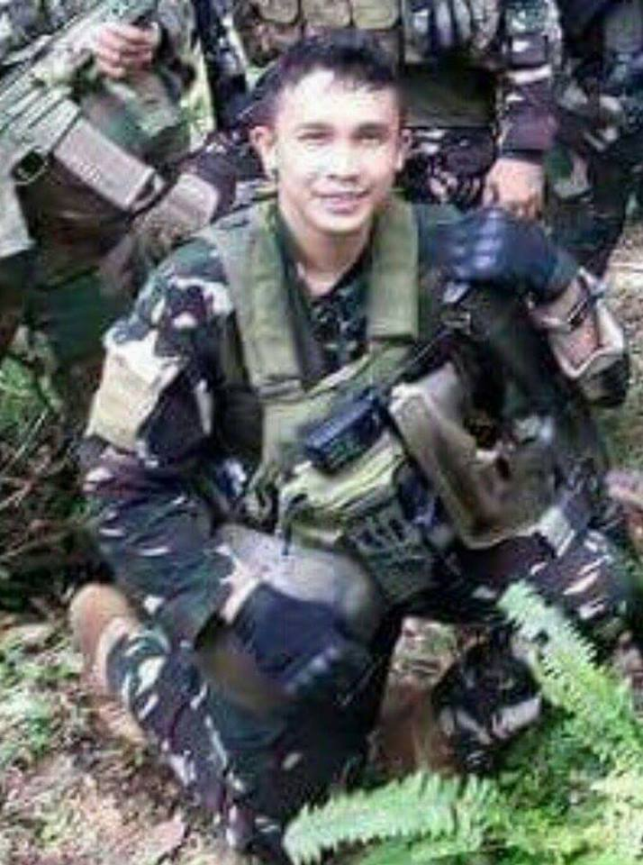 2nd Lieutenant Ronald Detalla, a member of the elite 2nd Scout Ranger Company paid the ultimate sacrifice while fighting the ASG terrorists in Sitio Sangay, Buhanginan, Patikul, Sulu on Dec 30, 2015.