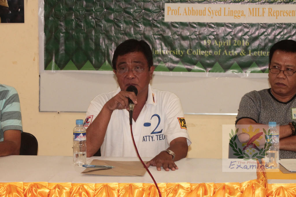 Albay congressional aspirants slams BBL passage, opts for federalism