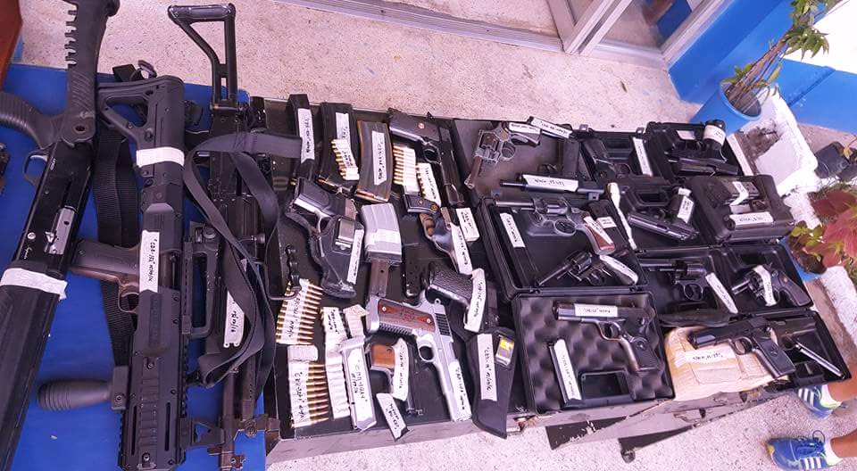 Luceña Private Armed Group arm cache seized: CIDG -5