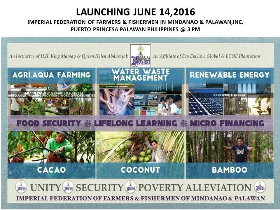 ROYAL LUPAH SUG INITIATES POVERTY ALLEVIATION, FOOD SECURITY AND RENEWABLE ENERGY PROJECT