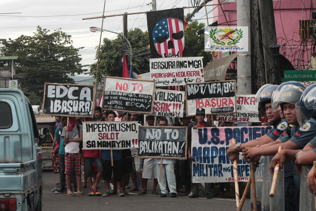 Bikolano militants  slams  Pacific Partnership 2016  as a deceptive U.S military intervention in PH