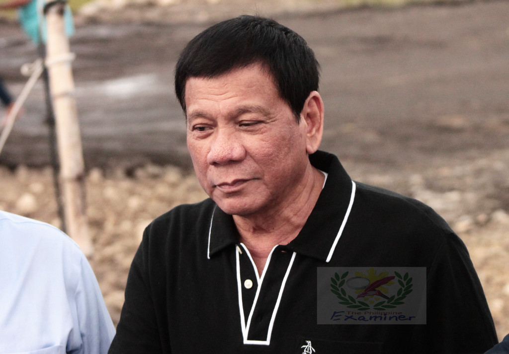 President Duterte attends the ground breaking ceremony of Bicol International Airport Package 2A: Construction of Landslide Facilities or the Site Development and other buildings in Alobo, Daraga, Albay.