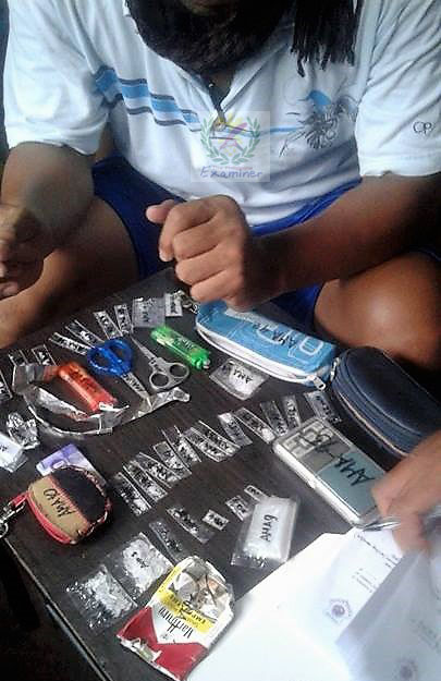 Police arrests couple for illegal drugs in Tabaco City