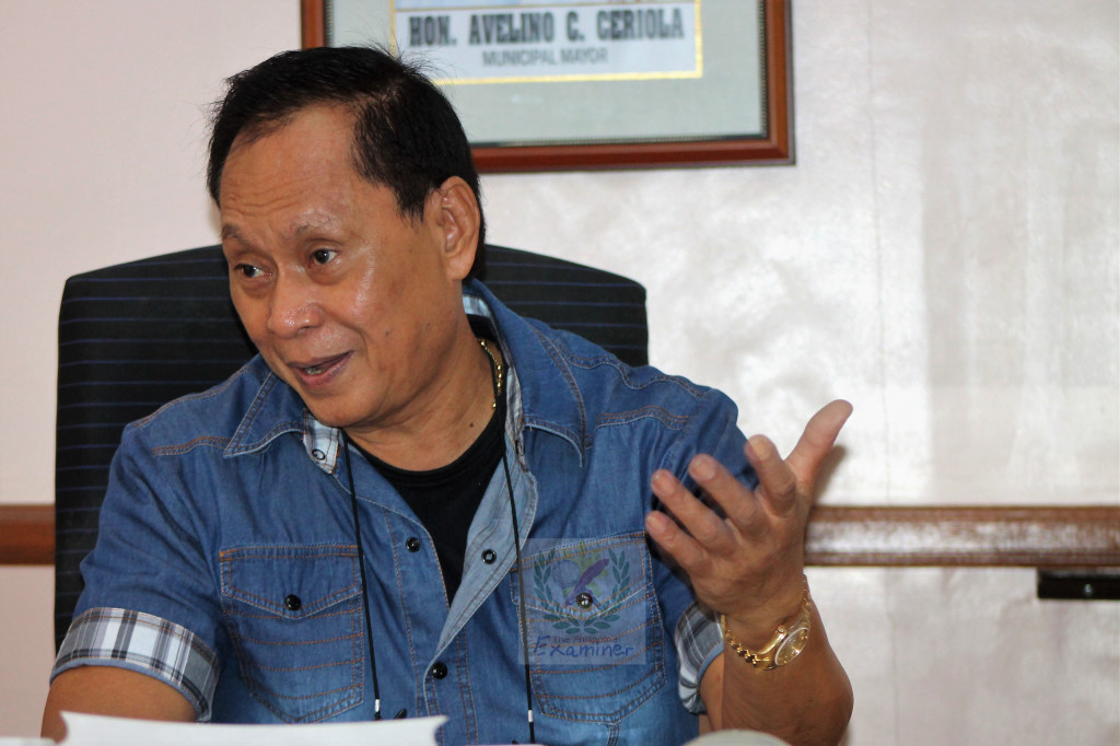 "Malinao Mayor Avelino ""Billy"" C. Ceriola. Photo by Dárlán Páléncìá Bárcélón"