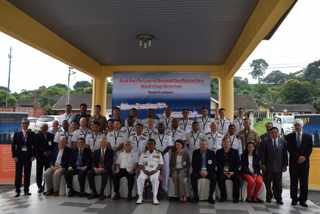 Malaysia: Regional workshop on law of armed conflict at sea launched