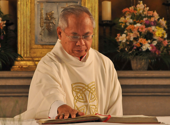 +Orlando B. Cardinal Quevedo, O.M.I. Archbishop of Cotabato. Photo by CBCPNews.