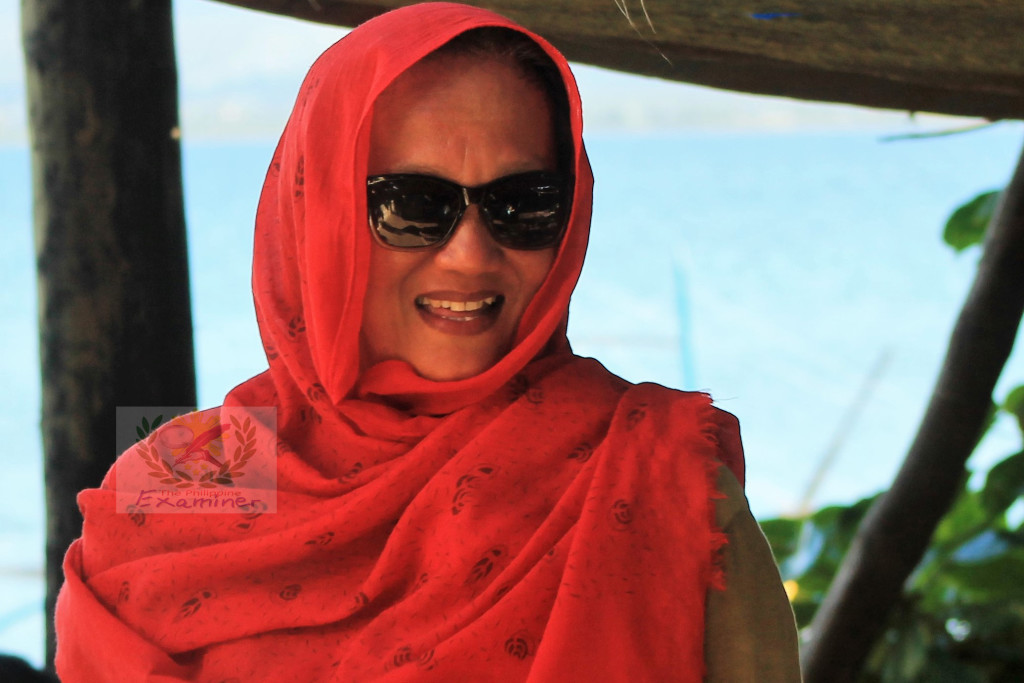 Tabaco City lady village chief wish peace in Marawi City on the celebration of Eid al-Fitr
