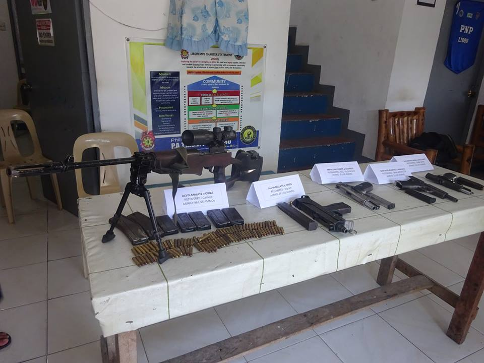 Army nabs four armed men in Libon, Albay
