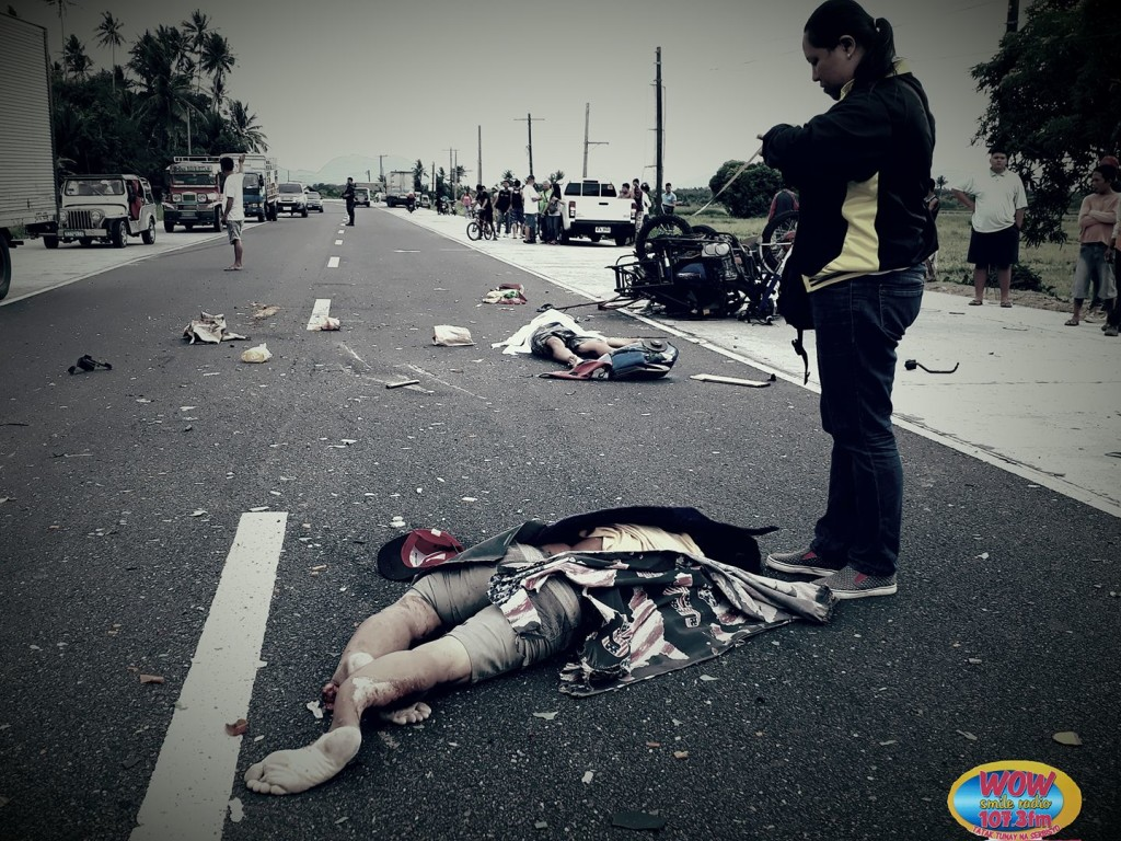 Buhatan vehicular accident kills two persons