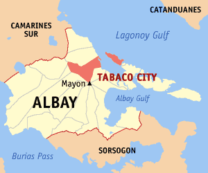 Seaman held for illegal discharge of firearm and alarm and scandal in Tabaco City