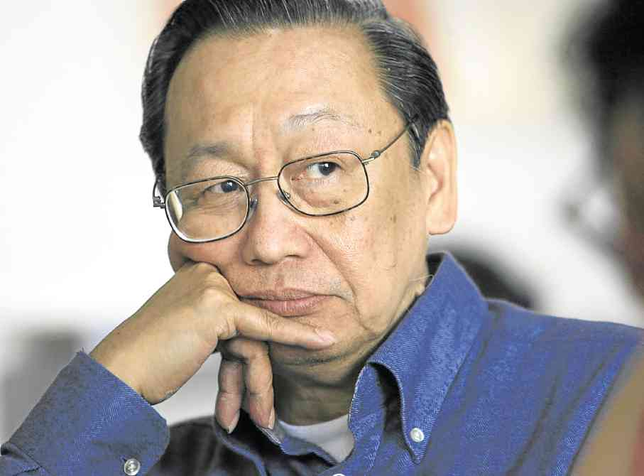 Double-Crossed. Chief Political Consultant of the National Democratic Front of the Philippines, Jose Maria Sison has accused the Philippine President Rodrigo R. Duterte of fiddling. NDF Photo.