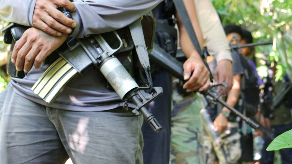 Army troopers clashes anew with communist in Camarines Norte