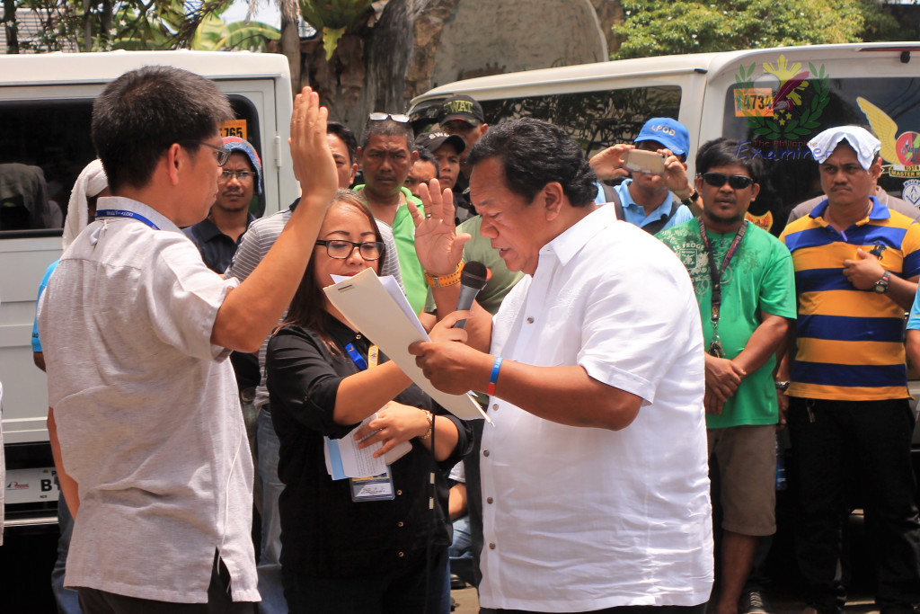 Retired police officer is the new Bicol LTFRB Director