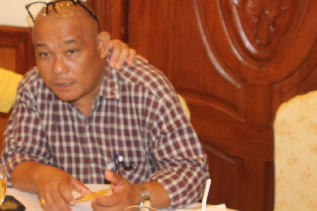 The Program Host Leon Barcellano of Radyo Uno Legazpi DWCT AM 1557 kHz. www.philippineexaminer.com file photo.