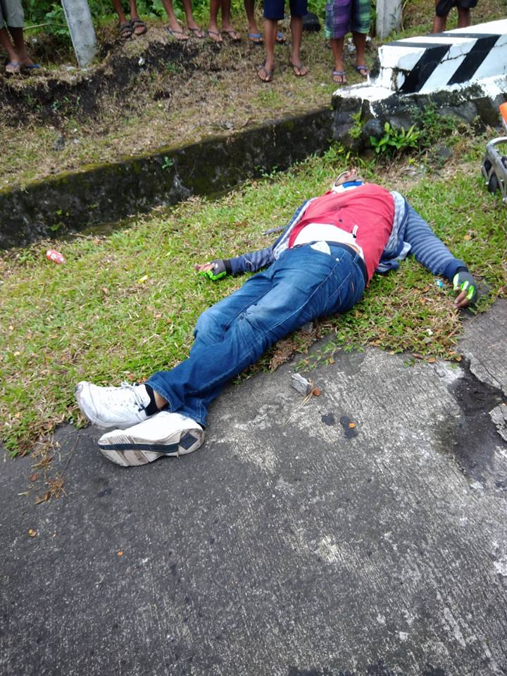 Indian national shot dead in Sto. Domingo diversion road