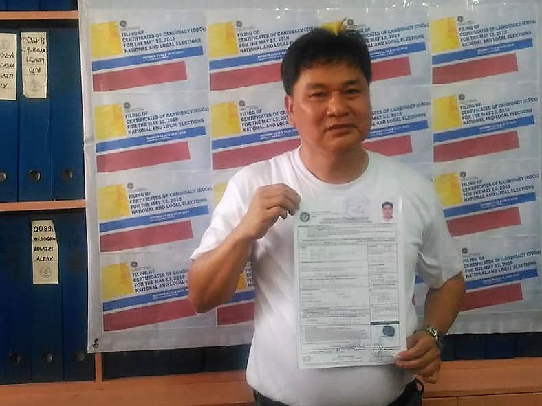 Scion of Legazpi City political clan plans to enter local politics
