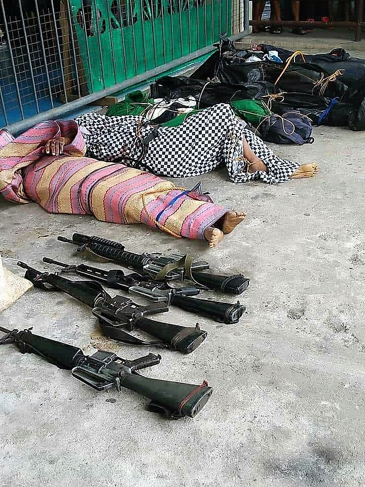 6 rebels killed, four assault rifles seized in Tinambac encounter