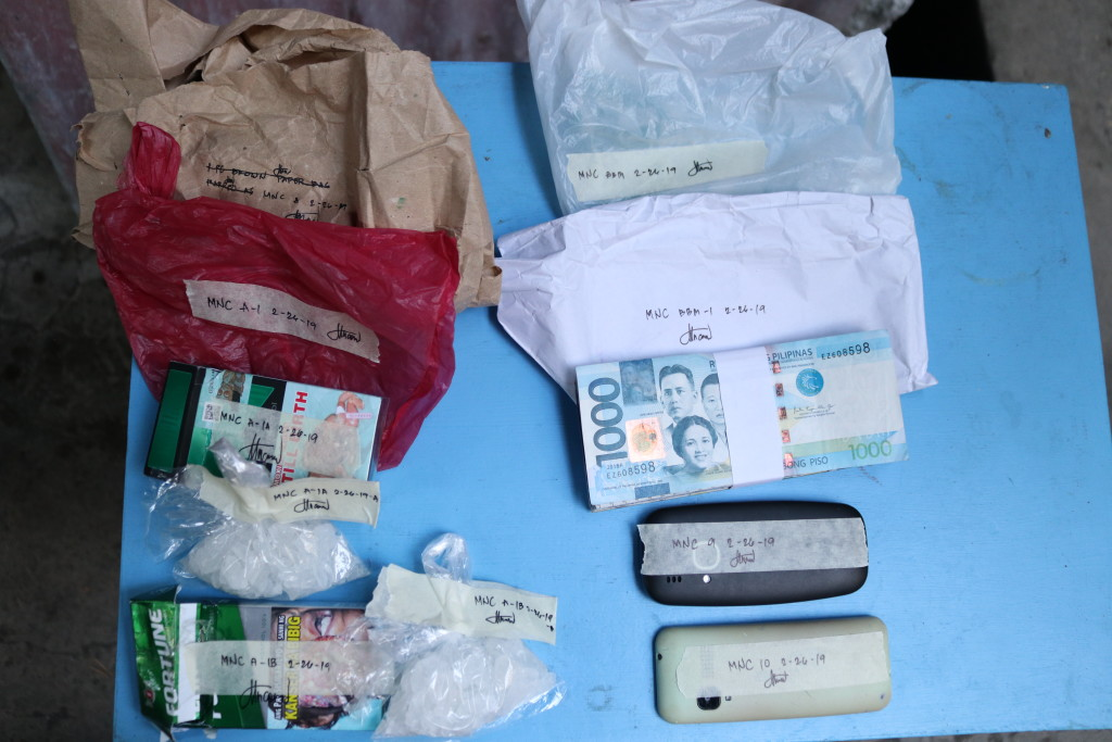 Seized Illegal Drugs in Pigcale – An approximate 100 grams of meth. PDEA file photo.